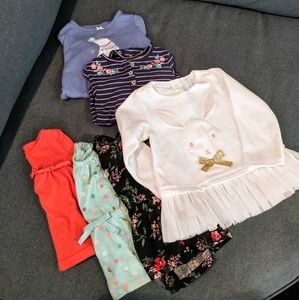 Bundle of 6pc size 18M tops